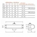 SIBA Доводчик 5 80-120 кг (разные цвета)