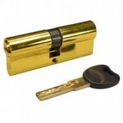 Цилиндр Imperial 100mm 50/50 PB кл-кл золото(ЕСТЬ ОПТ)