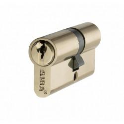 Цилиндр Siba 80 мм 25.10.45 кл-кл., (латунь) 12180/C (ЕСТЬ ОПТ)