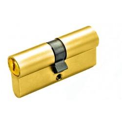 Цилиндр YUTL 60 мм (25х10х25), кл-кл, англ.ключ (золото)(ЕСТЬ ОПТ)