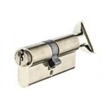 Цилиндр YUTL 60 мм (25х10х25), ключ-пов. английский (хром)