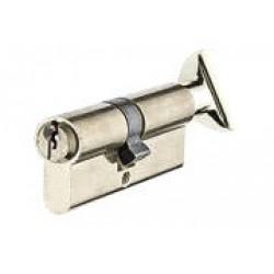 Цилиндр YUTL 60 мм (25х10х25), ключ-пов. английский (хром)(ЕСТЬ ОПТ)