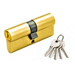 Цилиндр YUTL 65 мм (25х10х30), кл-кл, английский (золото)(ЕСТЬ ОПТ)