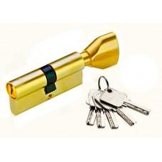Цилиндр YUTL 65мм (25х10х30), клю-пов, лазерный (золото)