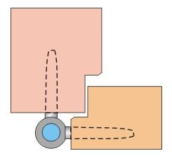 механизм дверных петель